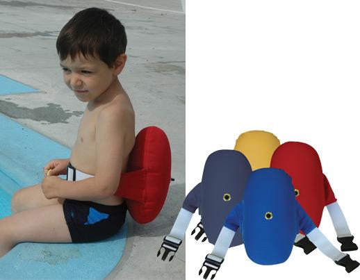 Ballon dorsal pour apprendre nager for Piscine pour apprendre a nager