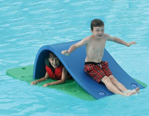 Swimming Pool Slide Parts : Pool foam floating tot slide